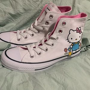 Brand New Converse Hello Kitty women's 7